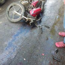 Choque entre motos deja un niño de 6 años sin vida