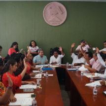 Realiza Ayuntamiento aprobaciones y análisis de proyectos para beneficio de Tuxtepec