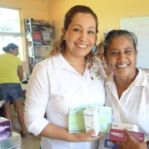 María Luisa Vallejo siempre cerca de la gente… CUMPLE DIF PRIMERAS 50  BRIGADAS DE SERVICIOS