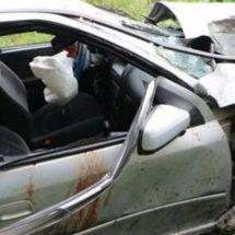 Fuerte accidente cerca de Novara