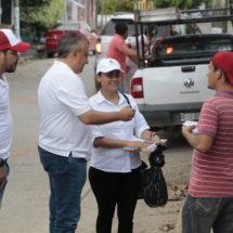 Apoya personal de Liconsa en entrega de recursos para reconstrucción de viviendas