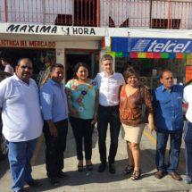 """Autorizan recursos para remodelar el Mercado """"Central"""" de Tuxtepec"""