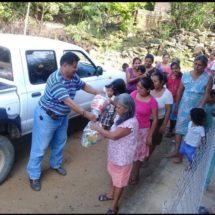 Se solidariza diputado Tomás Basaldú con familias afectadas por las lluvias en la Costa