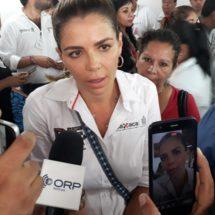 Reafirma el compromiso Ivette Moran de que Palo Gacho será reconstruido