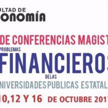 En la UABJO impartirán conferencias sobre problemas financieros de las universidades públicas