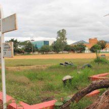 Abandonan a su suerte el deportivo de Ixcotel, Oaxaca