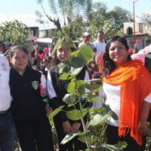 En Huajuapan, celebraron el Día Naranja con acto ecológico