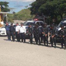 Por Todos Santos en Pinotepa Nacional ponen en marcha operativo de seguridad
