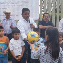 Arranca Dávila cinco obras más con inversión de más de cuatro millones de pesos