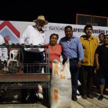 Ayuntamiento beneficia a 118 familias con Programa Pequeños Productores