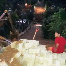 Arrancan trabajos de ampliación de drenaje en la colonia el Bosque