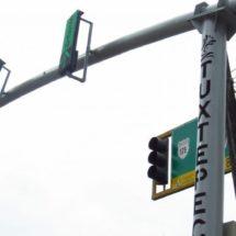 Ya casi listos los semáforos instalados en la ciudad