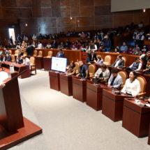 En comparecencia ante el Pleno Legislativo… Exigen diputados eficacia y eficiencia al secretario de Finanzas