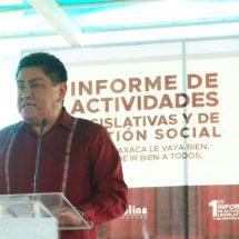 Molina Espinoza el legislador con mayor productividad