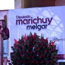Diputada Marichuy Melgar presenta primer informe de actividades legislativas