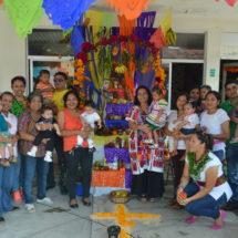 Se une DIF Tuxtepec a tradición de Altares