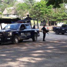 Policía estatal invade la cuenca para salvaguardar a la población