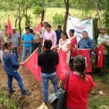 Inician pavimentación en Cerro Flores