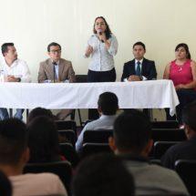 Imparten taller de protección de datos personales en el Congreso de Oaxaca