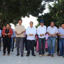 La suma de esfuerzos hace posible una obra más de infraestructura vial y urbana en Xoxocotlán: Toribio López Sánchez