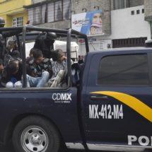 Hallan dos cabezas humanas en las calles del centro de la Ciudad de México