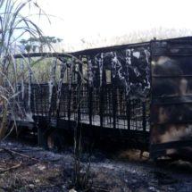 Explota toma ilegal e incendia torton
