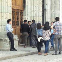 Otra vez se disputan edificio Central de la facultad de Derecho de la UABJO, Oaxaca