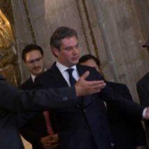 Osorio Chong desea éxito a Aurelio Nuño