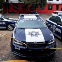 Llegan 3 nuevas patrullas para la policía