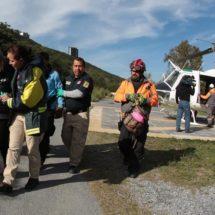 Rescata Protección Civil de Nuevo León a 12 maratonistas