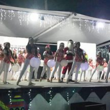 """Miles de ciudadanos disfrutan de la """"Blanca Navidad de Tuxtepec"""" en el parque """"Juárez"""""""