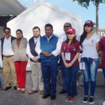 Anuncia Dávila que médicos del IPN ofrecen servicios en comunidades de Tuxtepec