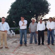 Inician construcción de techado de cancha en Francisco I. Madero Los Cerritos