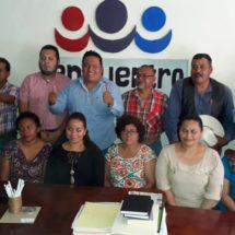 Representantes de PES en la región respaldan a Ángel Desgarenes como coordinador distrital