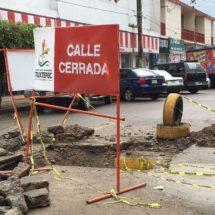 Más de 30 años los problemas de socavones en Tuxtepec