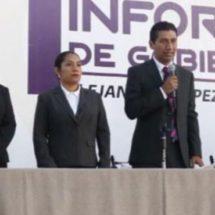 Ante miles de xoxeños, destaca Alejandro Jarquín logros alcanzados a un año de su Gobierno