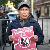 El Congreso mexicano ratifica el proyecto de ley que otorga al Ejército funciones policiales