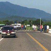«¡Frenar bloqueos!», empresarios del Istmo, Oaxaca