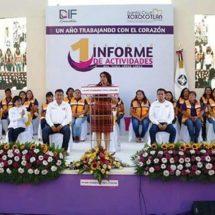 Trabajar con el corazón por el bienestar de familias xoxeñas, prioridad del DIF Xoxocotlán