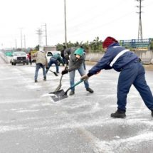 Se congelan puentes en Monclova