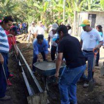 Dávila: con obras que se construyen con Tequio damos más beneficio a la sociedad
