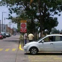 Club Rotario Tuxtepec instalará 3 señalizaciones más del 1X1 en la ciudad