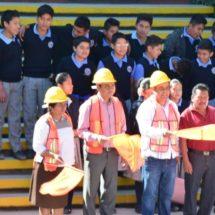 Diputado Toribio López Sánchez entrega resultados de infraestructura educativa en San Antonio de la Cal
