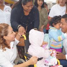 Me quedo con la sonrisa de los niños: María Luisa Vallejo