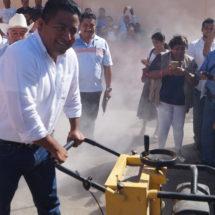 Arranca Dávila construcción de Sala de Espera en Hospital General de Tuxtepec