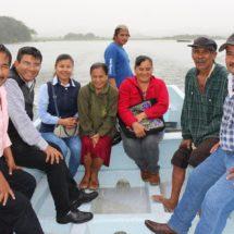 Presidente de Ojitlán beneficia con lancha de motor a la comunidad de Emiliano Zapata