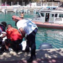Rescata la Marina cuerpo de canadiense ahogado en Huatulco