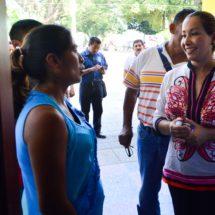 De manera inmediata… María Luisa Vallejo escucha y da solución a ciudadanos