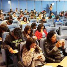 Presentaron examen de admisión 260 aspirantes a educación media y superior de UABJO