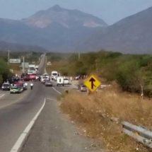 Bloqueadas las carreteras en la región del Istmo